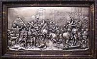 Рельефная картина Сражение