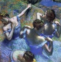 Танцовщицы в голубом (Эдгар Дэга)