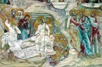Жены-мироносицы у Гроба Господня. Церковь Николы Мокрого