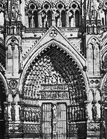 Центральный портал готического собора