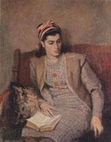 Портрет жены художника (В.М. Орешников)
