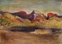Дега (Degas) Эдгар Море и горы