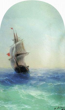 Бушующее море. (Айвазовский И.К.)