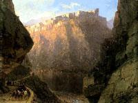 Дарьяльское ущелье (И.К. Айвазовский, 1855 г.)
