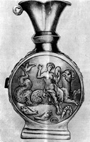 Ромейская серебряная ваза