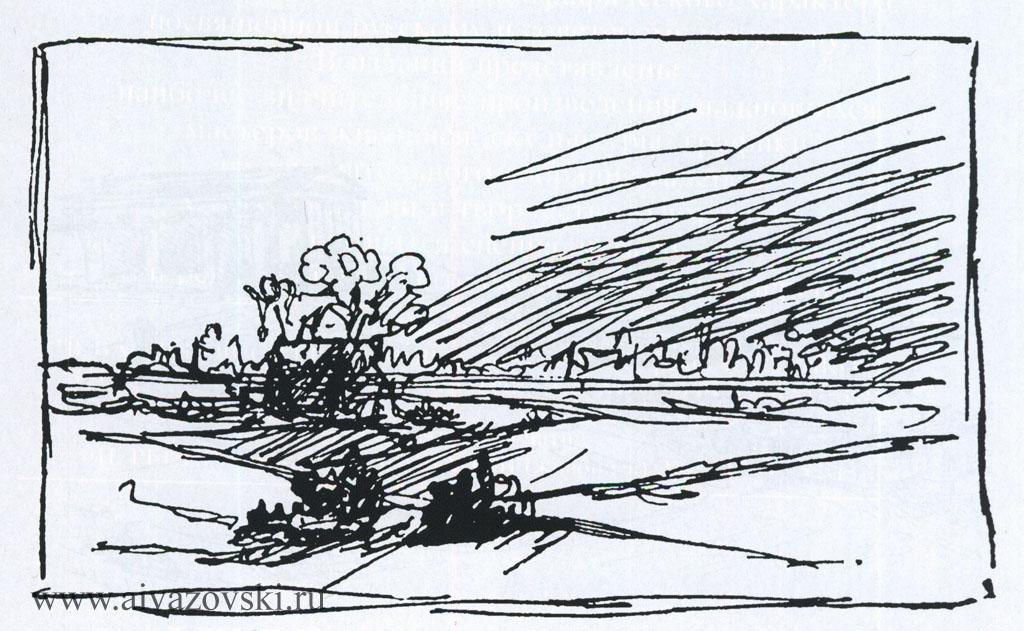 Набросок, 1850-е