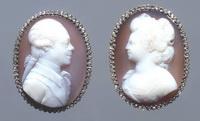 Князь Павел Петрович и княгиня Мария Федоровна (камея)