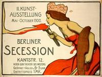 Плакат выставки Берлинского сецессиона (1900 г.)